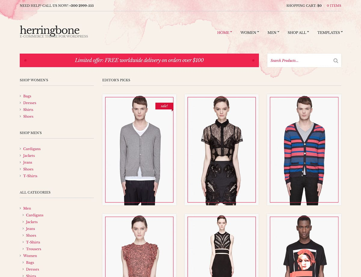 herringbone-woocommerce-theme