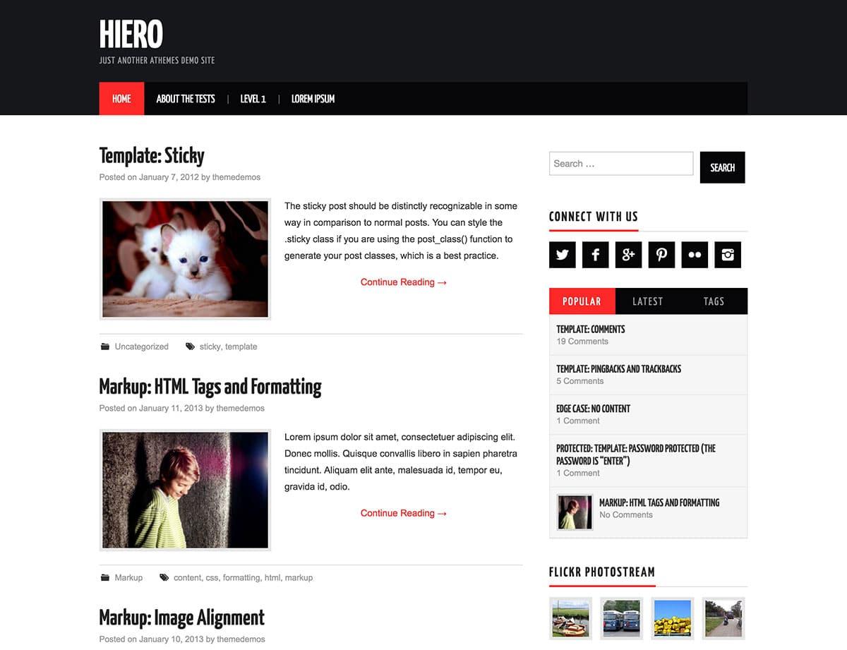 hiero-free-magazine-theme