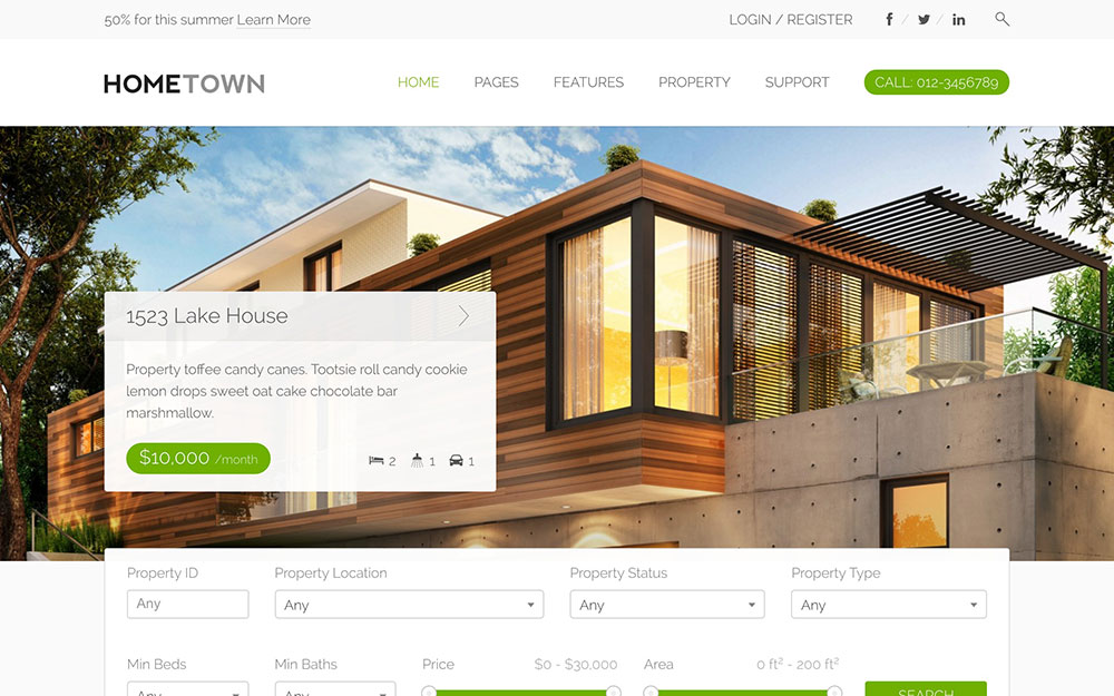 25 Best Real Estate Wordpress Themes 2021 Athemes