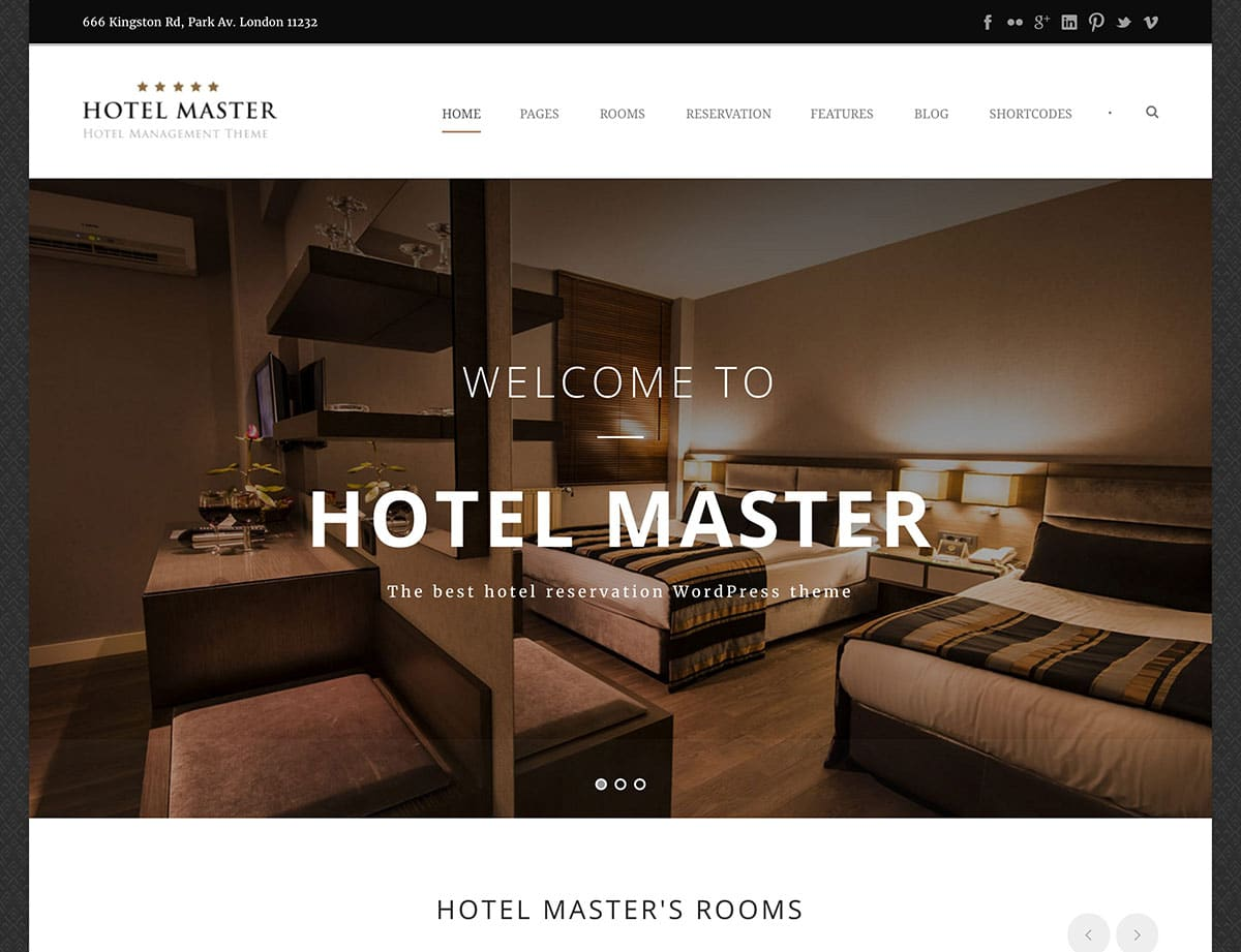 hotel-master-wordpress-theme