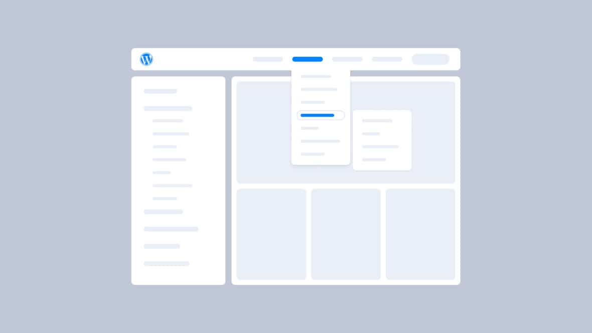 How to Add a Navigation Menu in WordPress, featured image