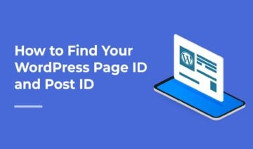 How to Find Your WordPress Page ID and Post ID, featured image
