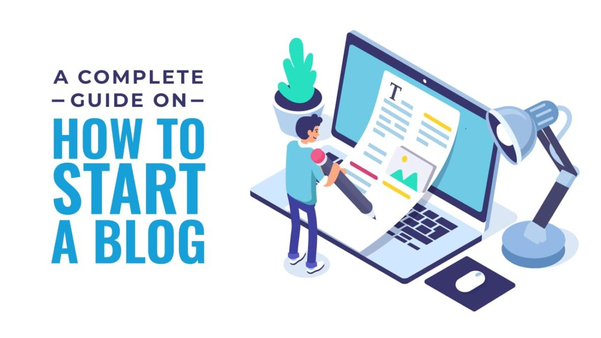 How to Start a Blog, featured image