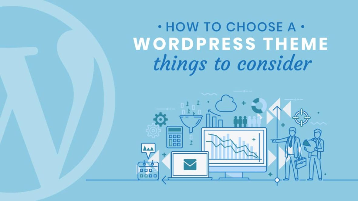 How to Choose a WordPress Theme, featured image