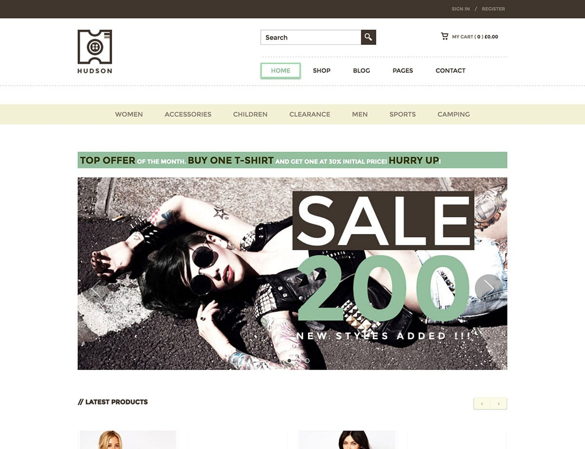 hudson-ecommerce-wordpress-theme