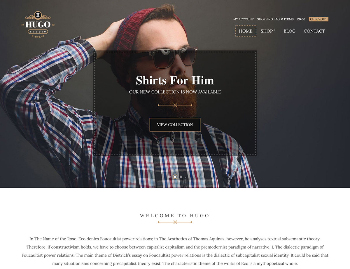 hugo-woocommerce-theme