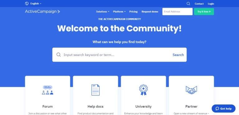 ActiveCampaign user forum