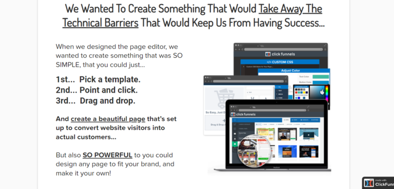 ClickFunnels landing pages