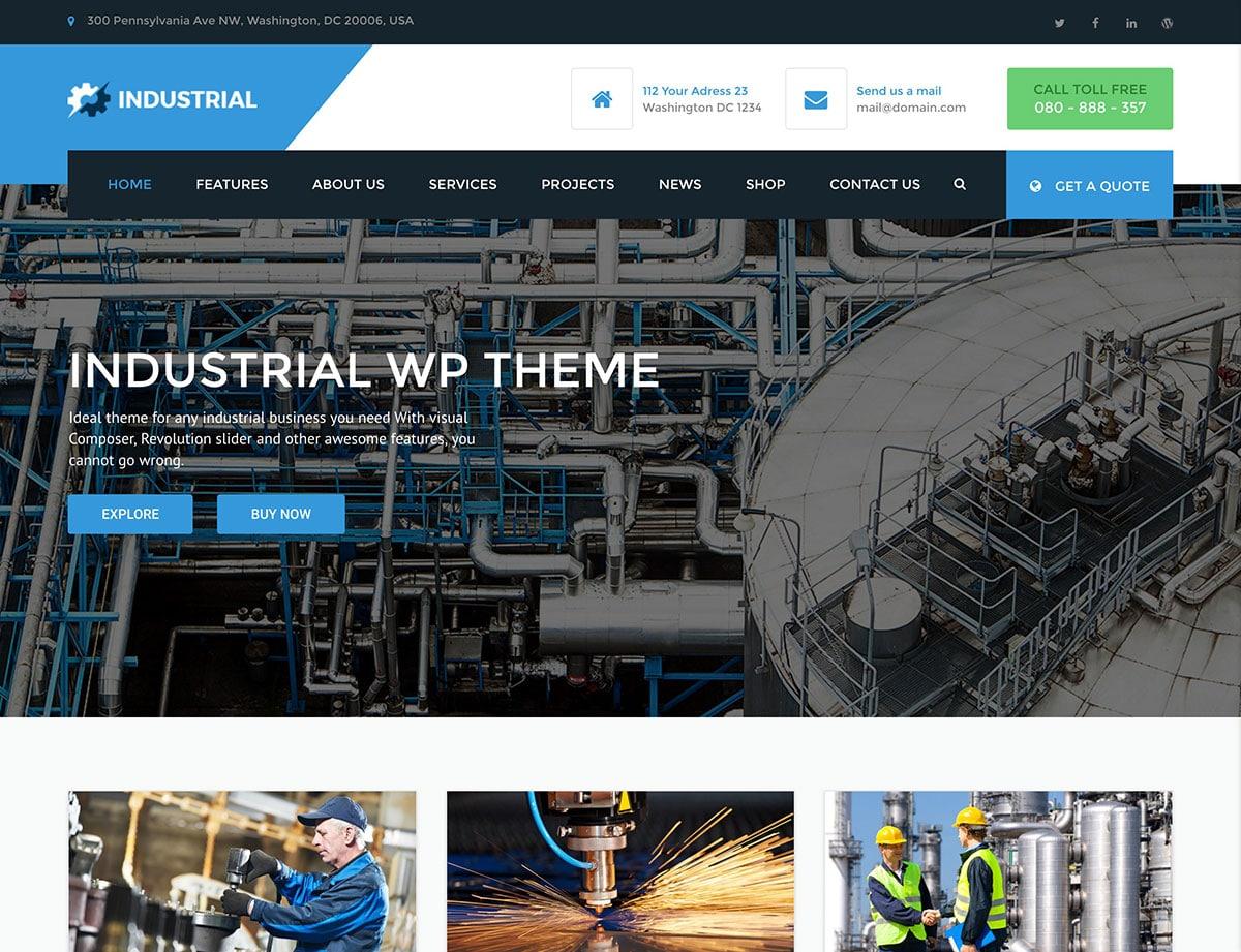 industrial-wordpress-theme