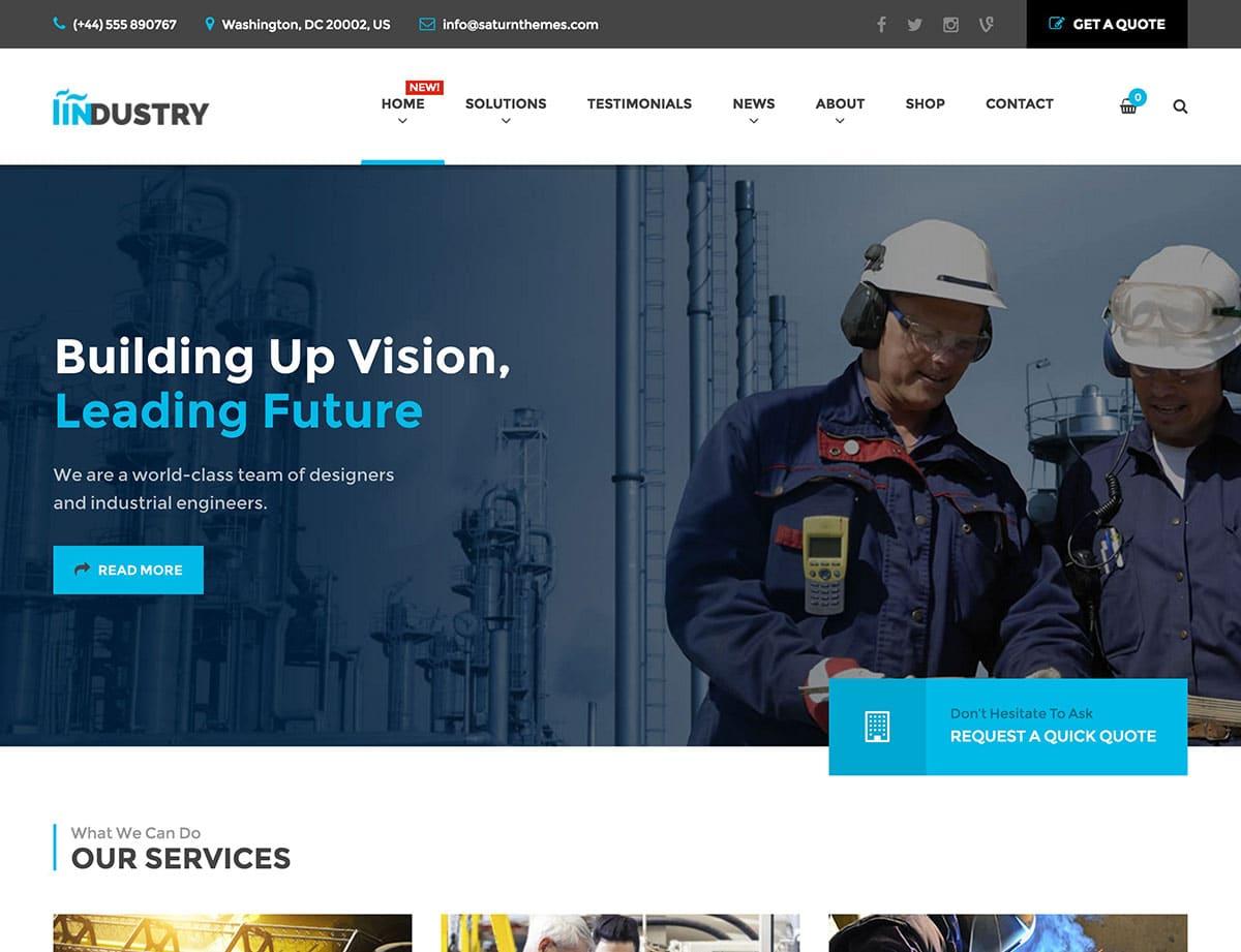 industry-wordpress-theme