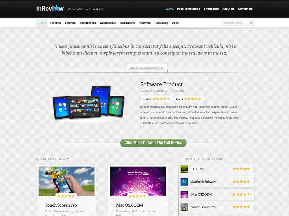 thesis theme review site 8 wordpress themes and plugins for creating a review site well-written and easy to use and you'll have no problem setting up a review site with this theme.