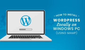 Install WordPress locally on Windows using MAMP featured image