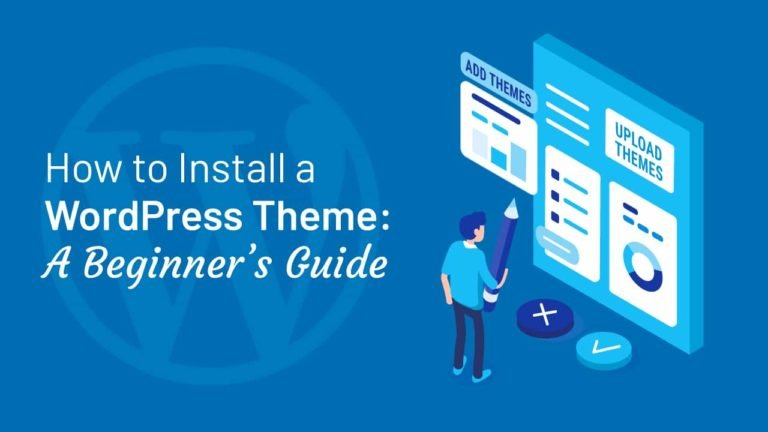 How to Install a WordPress Theme, featured image