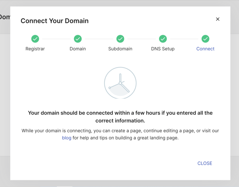Connect Your Domain