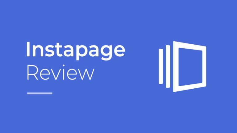 Instapage Review, featured image