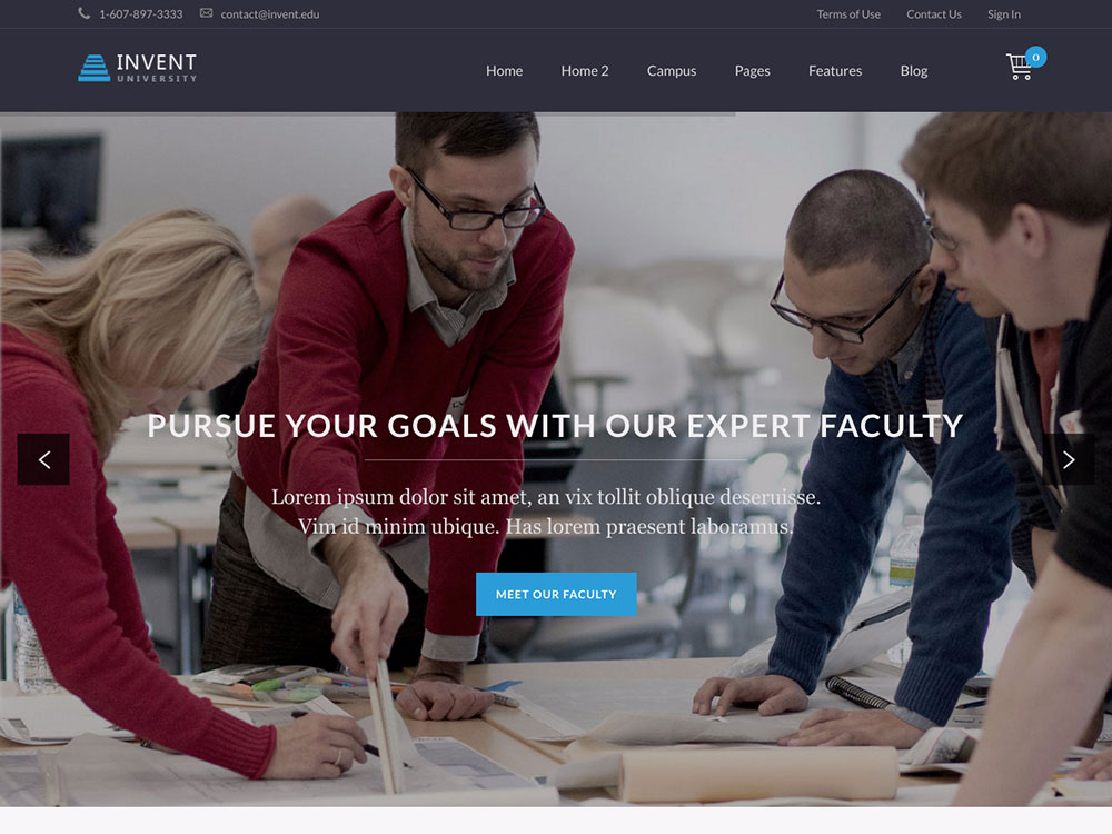 invent-education-wordpress-theme