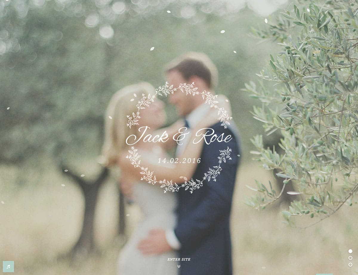 jack-&-rose-wordpress-wedding-theme