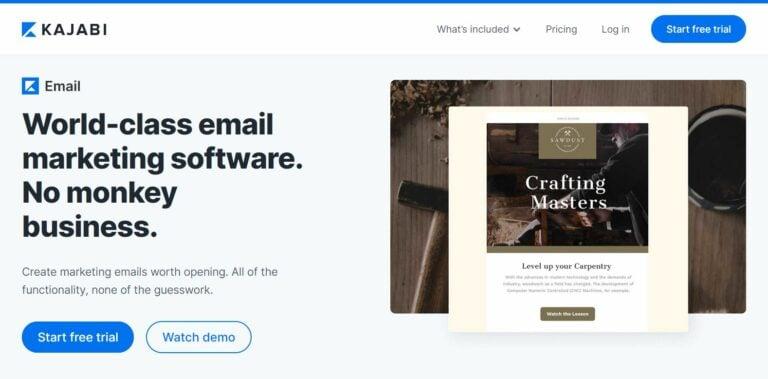 Kajabi email marketing
