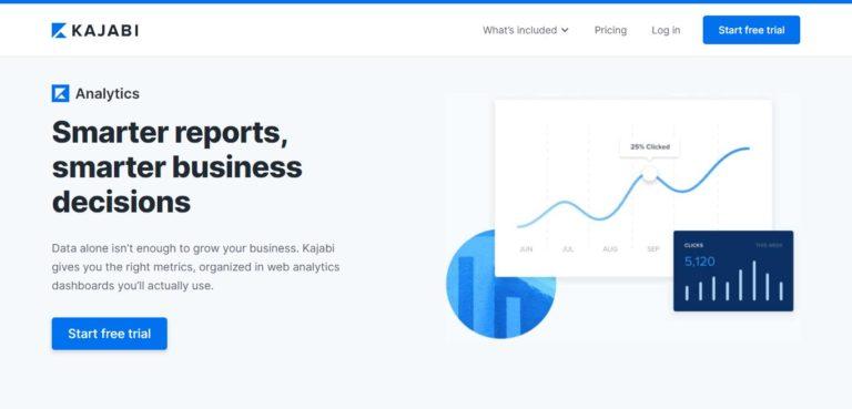 Kajabi reporting and analytics