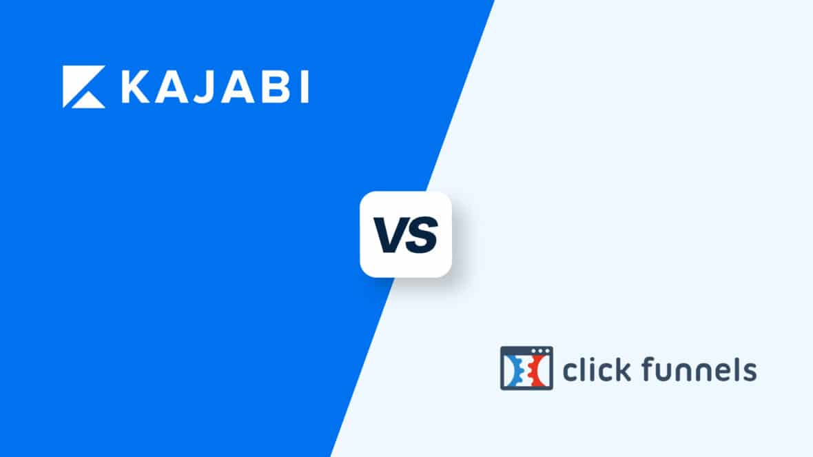 Kajabi vs ClickFunnels, featured image