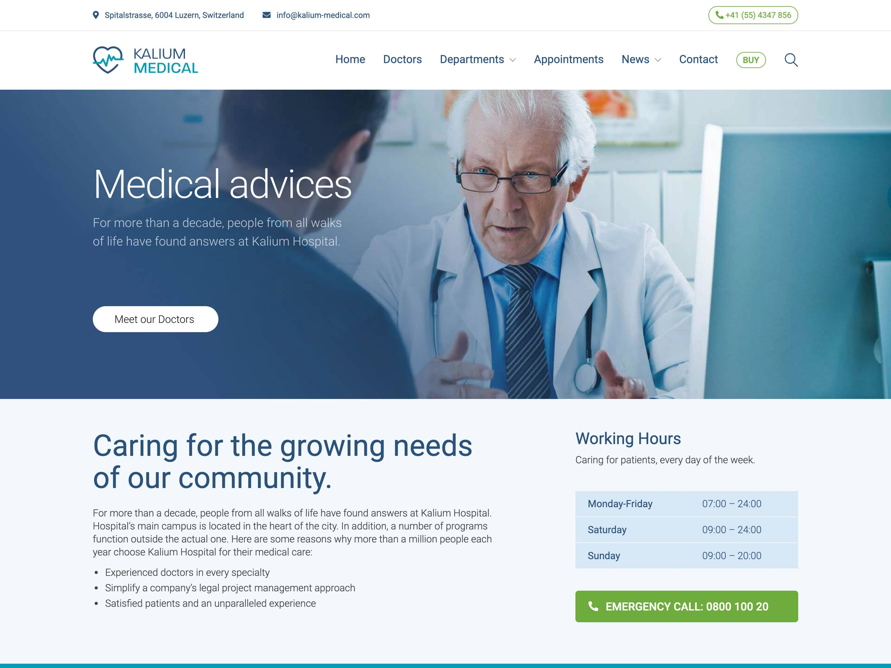 25 Best Health And Medical Wordpress Themes 2021 Athemes