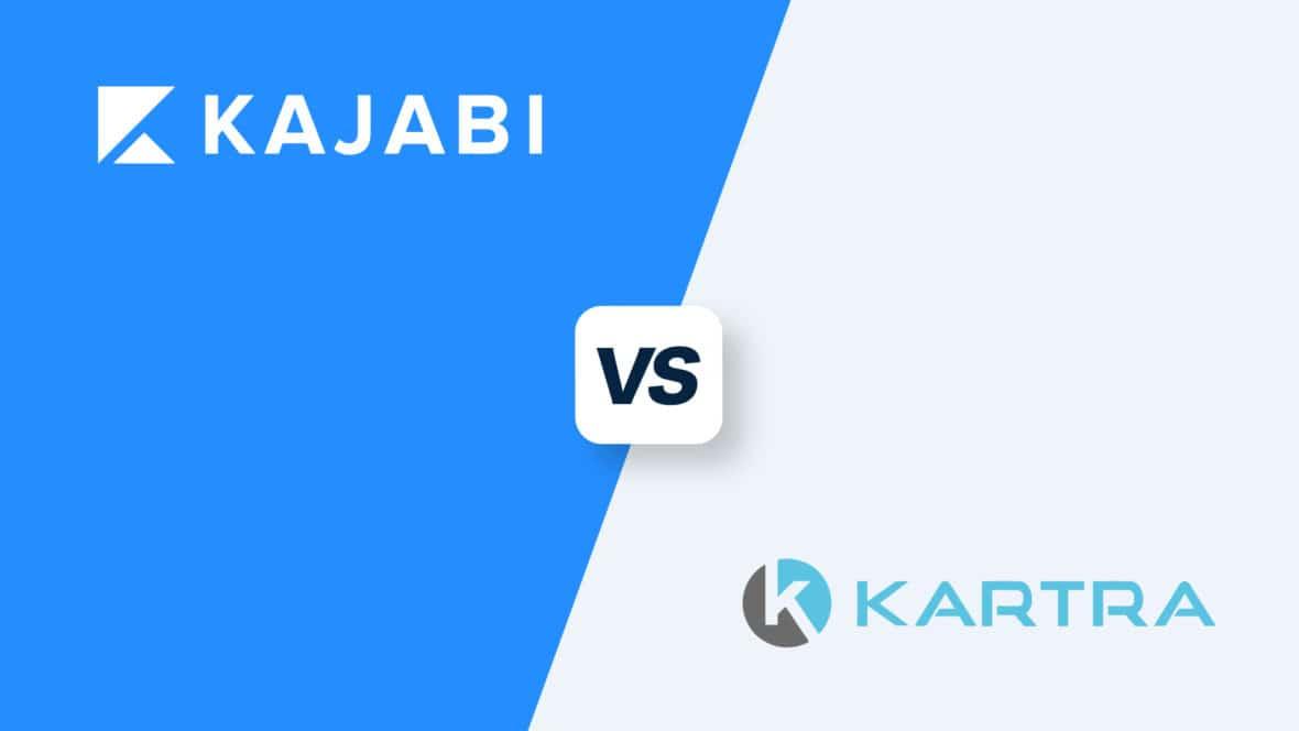 Kartra vs Kajabi, featured image