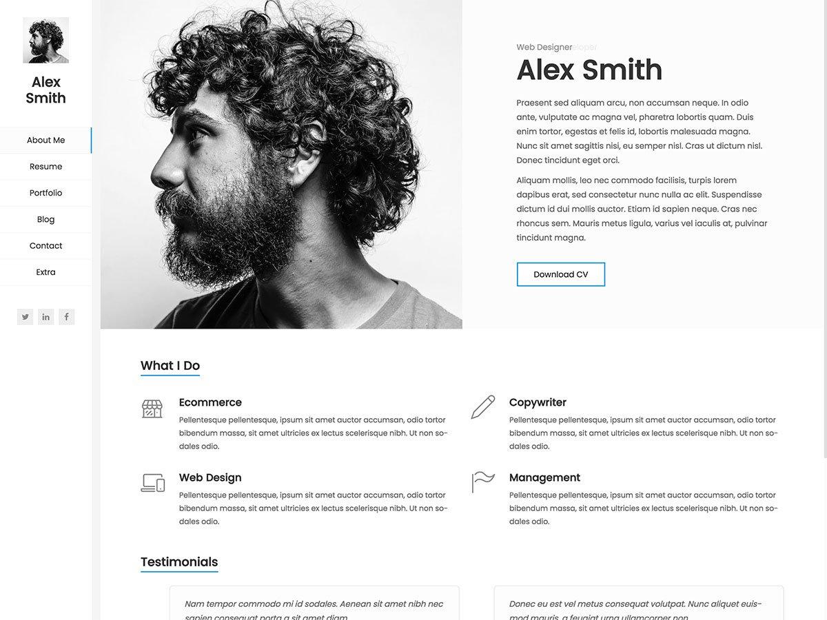 20 Best Wordpress Resume Themes 2020 Athemes