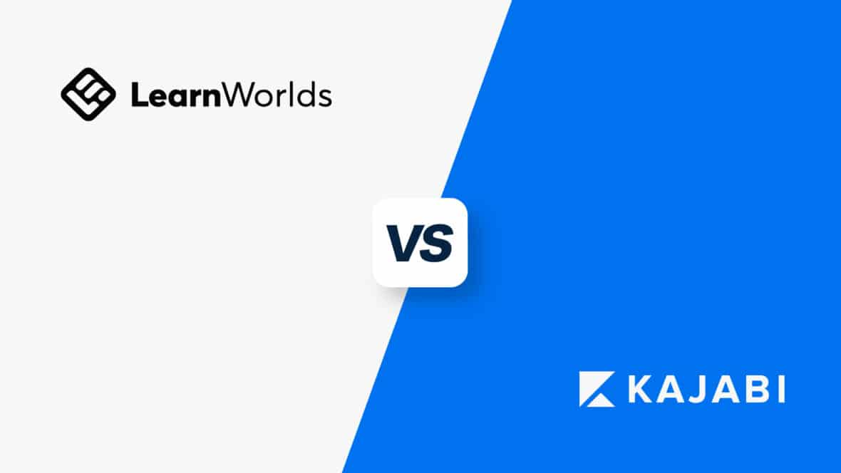 LearnWorlds vs Kajabi, featured image