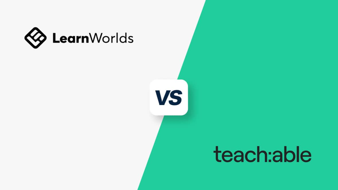 Learnworlds vs Teachable, featured image