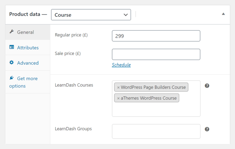 LearnDash WooCommerce integration