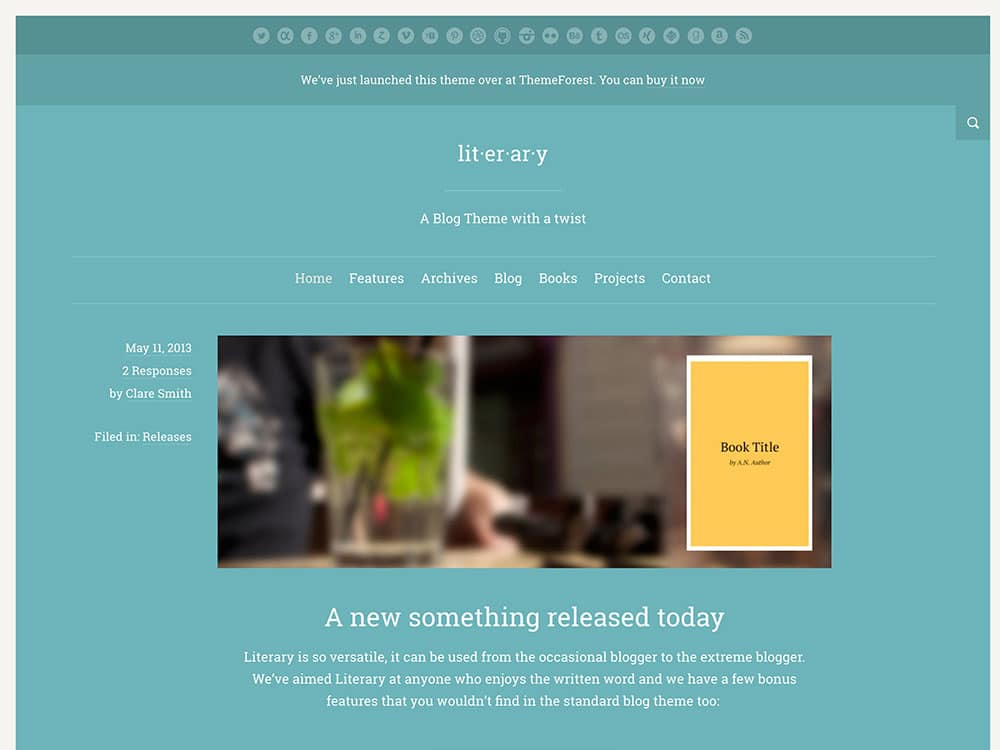 literary-wordpress-theme