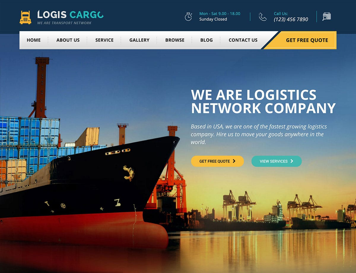 logiscargo-wordpress-theme
