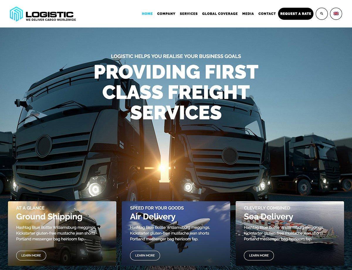 15 Best Transportation WordPress Themes 2020 Athemes