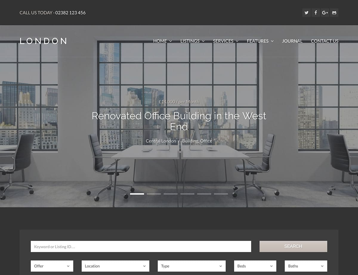 london-wordpress-real-estate-theme