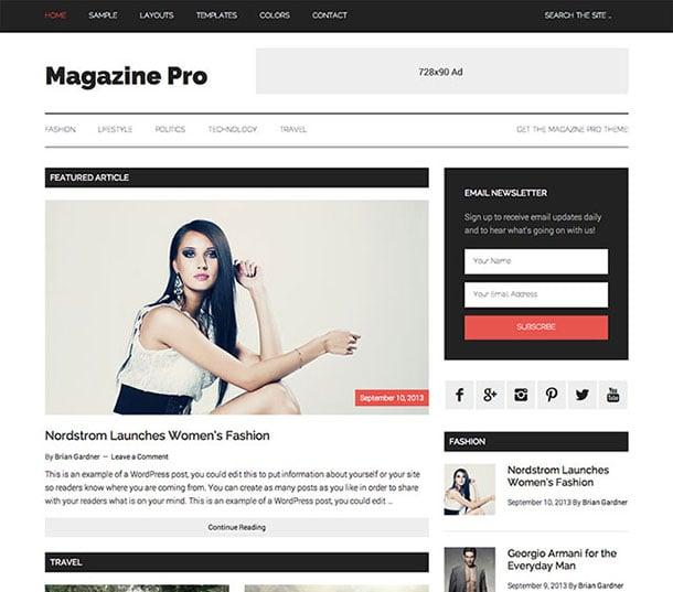 tạp chí-pro-wordpress-chủ đề