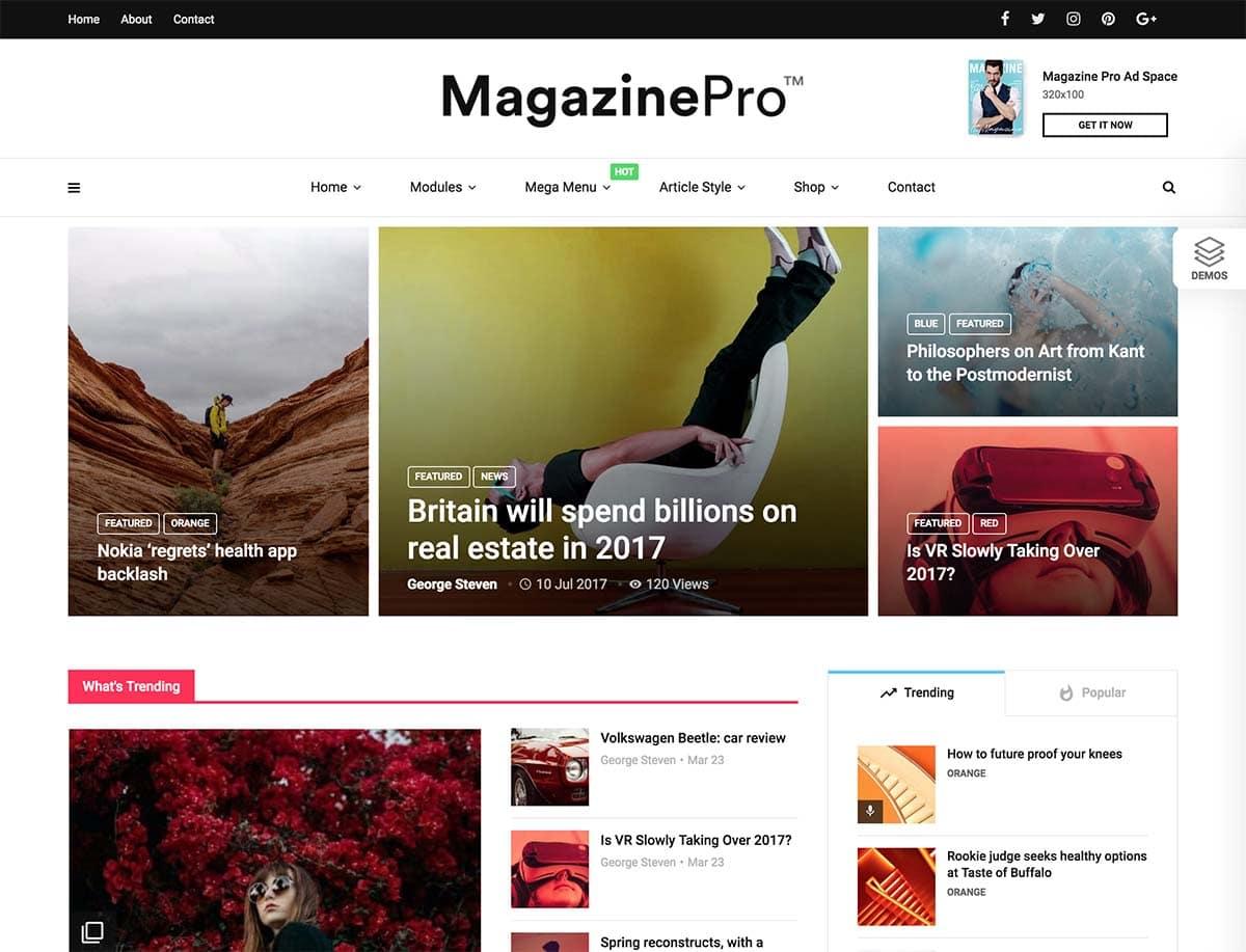 35 Best Magazine Wordpress Themes 2021 Athemes