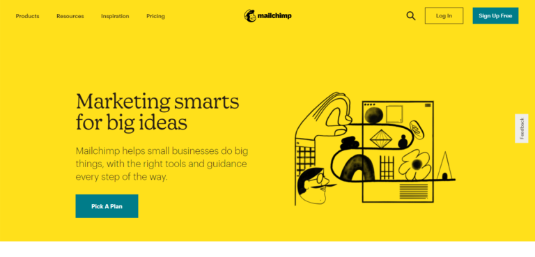 Mailchimp background