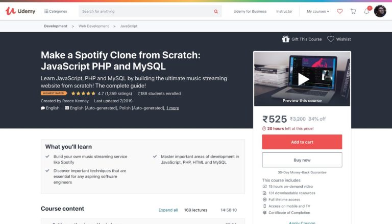 Make a Spotify Clone with PHP