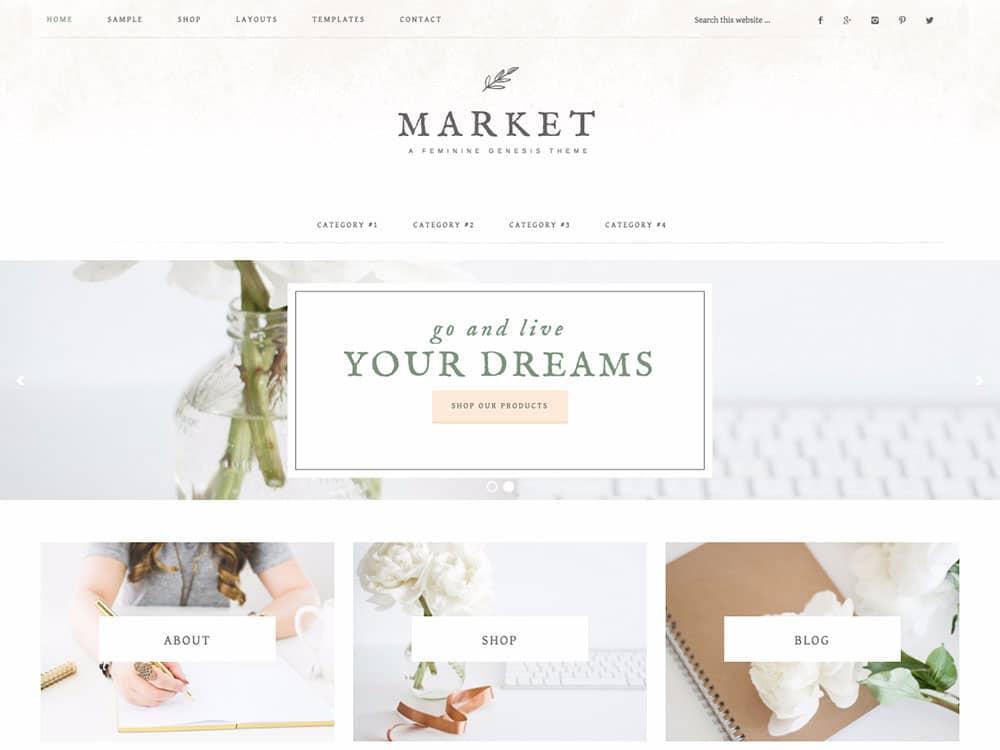 market-feminine-genesis-theme