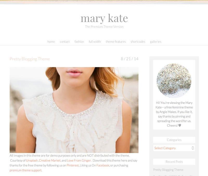 mary-kate-free-feminine-wordpress-theme