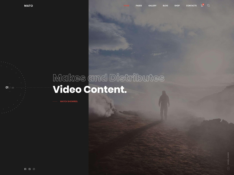 Videograferler İçin En İyi 12 WordPress Teması 2021