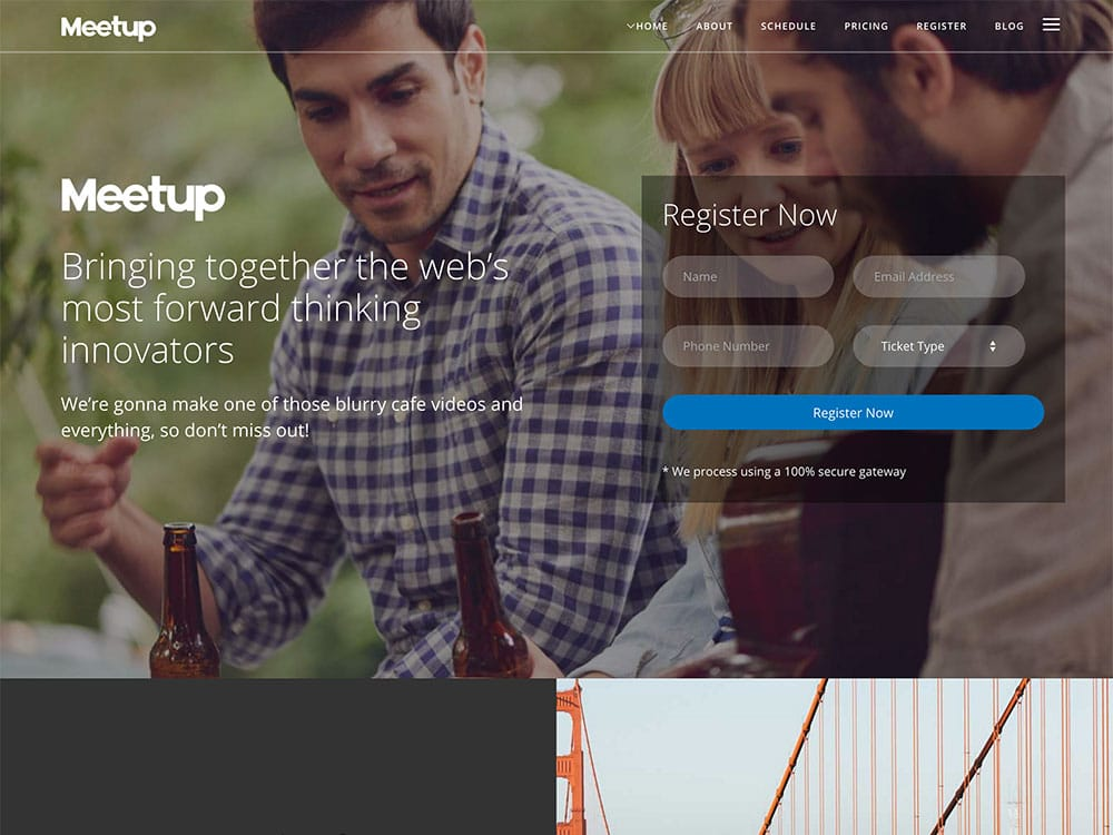 meetup-event-wordpress-theme