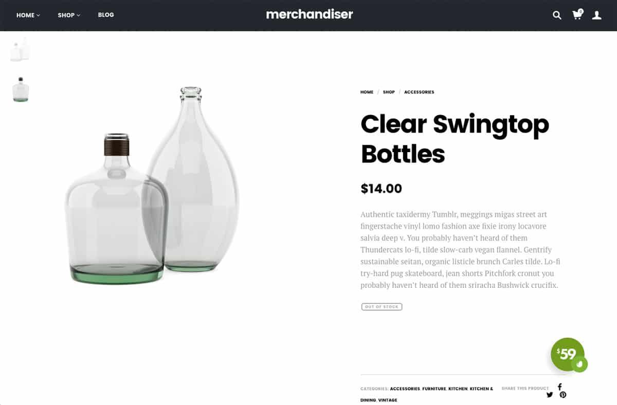 Merchandiser Product Information