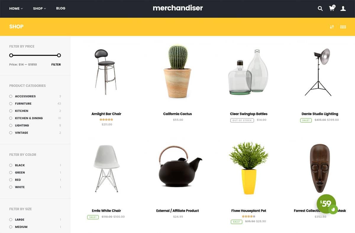 Merchandiser Product List