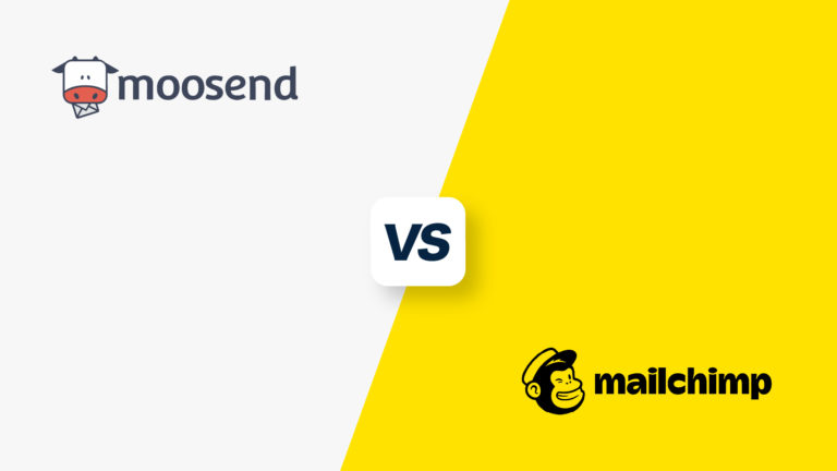 Moosend vs Mailchimp