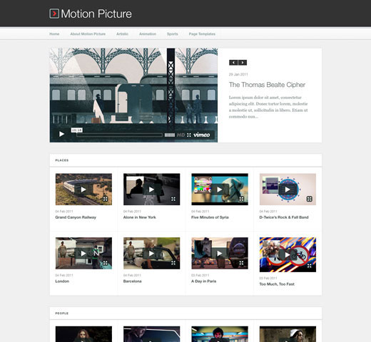 motion-picture-video-theme