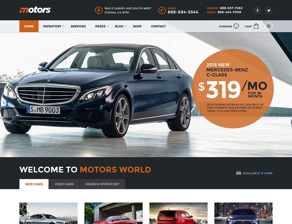 motors-car-dealership-wordpress-theme