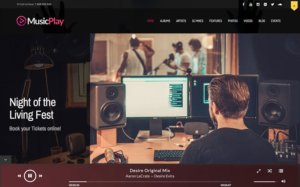musicplay-wordpress-theme