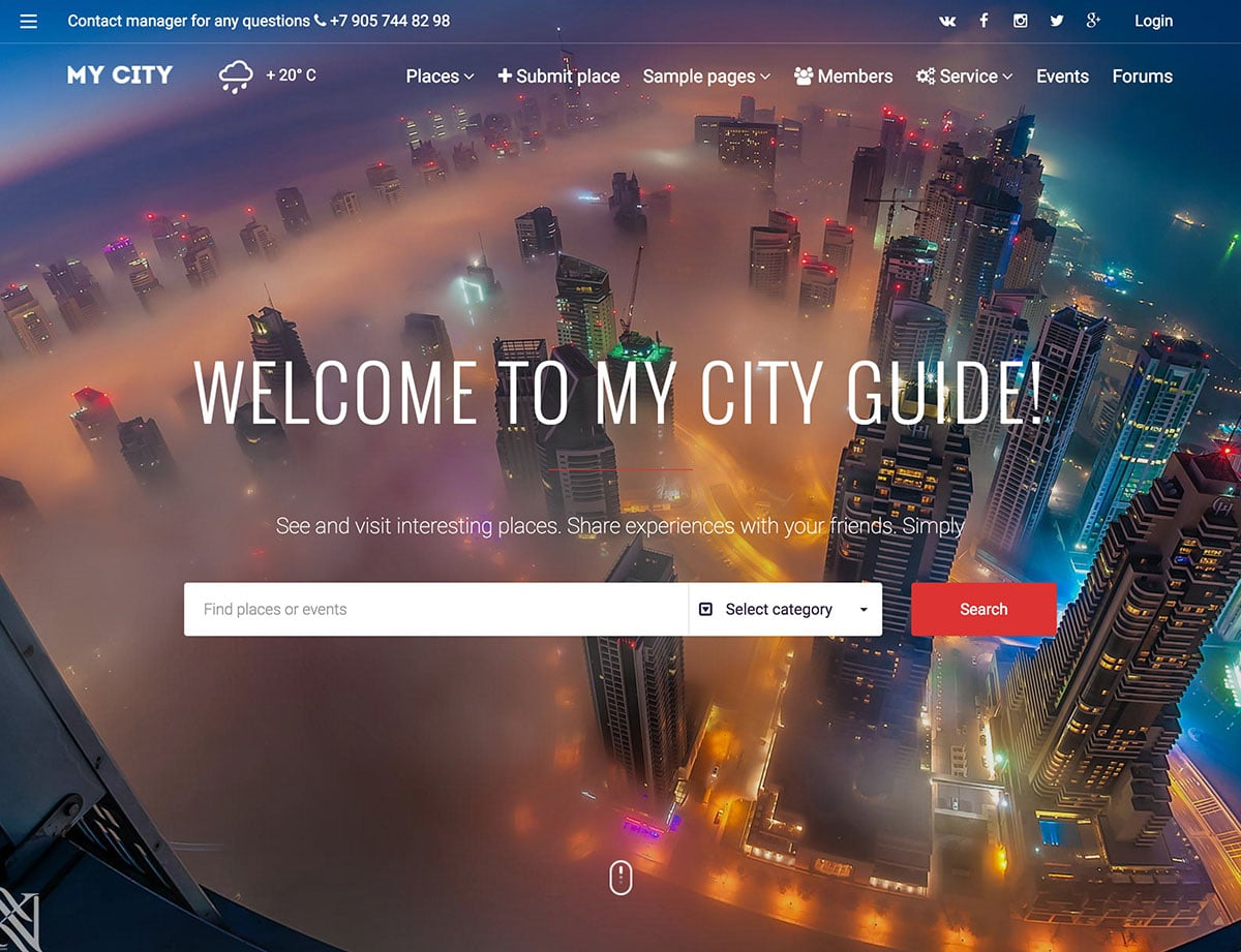 mycity-directory-theme