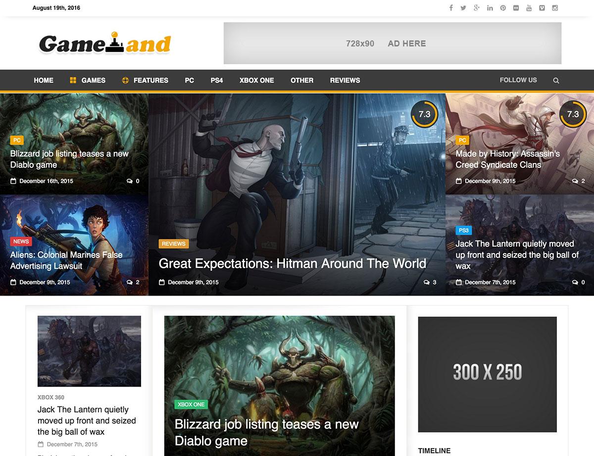 newsgamer-wordpress-theme